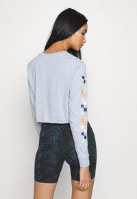 Vans - REIGN MARKER - Langærmede T-shirts - zen blue - 2