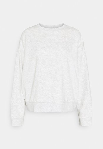 HUGE CROPPED - Sweatshirt - grey melange