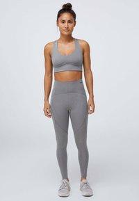 OYSHO - Sports bra - grey - 1