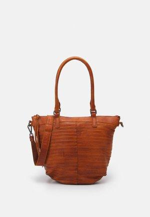 LIEBLING - Handbag - dark honey
