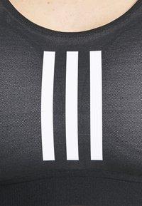 adidas Performance - Brassières de sport à maintien normal - black/white - 5