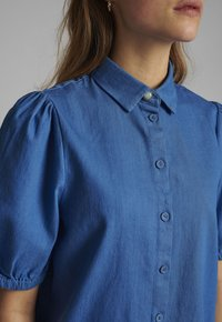 Nümph - Button-down blouse - medium blue denim - 2