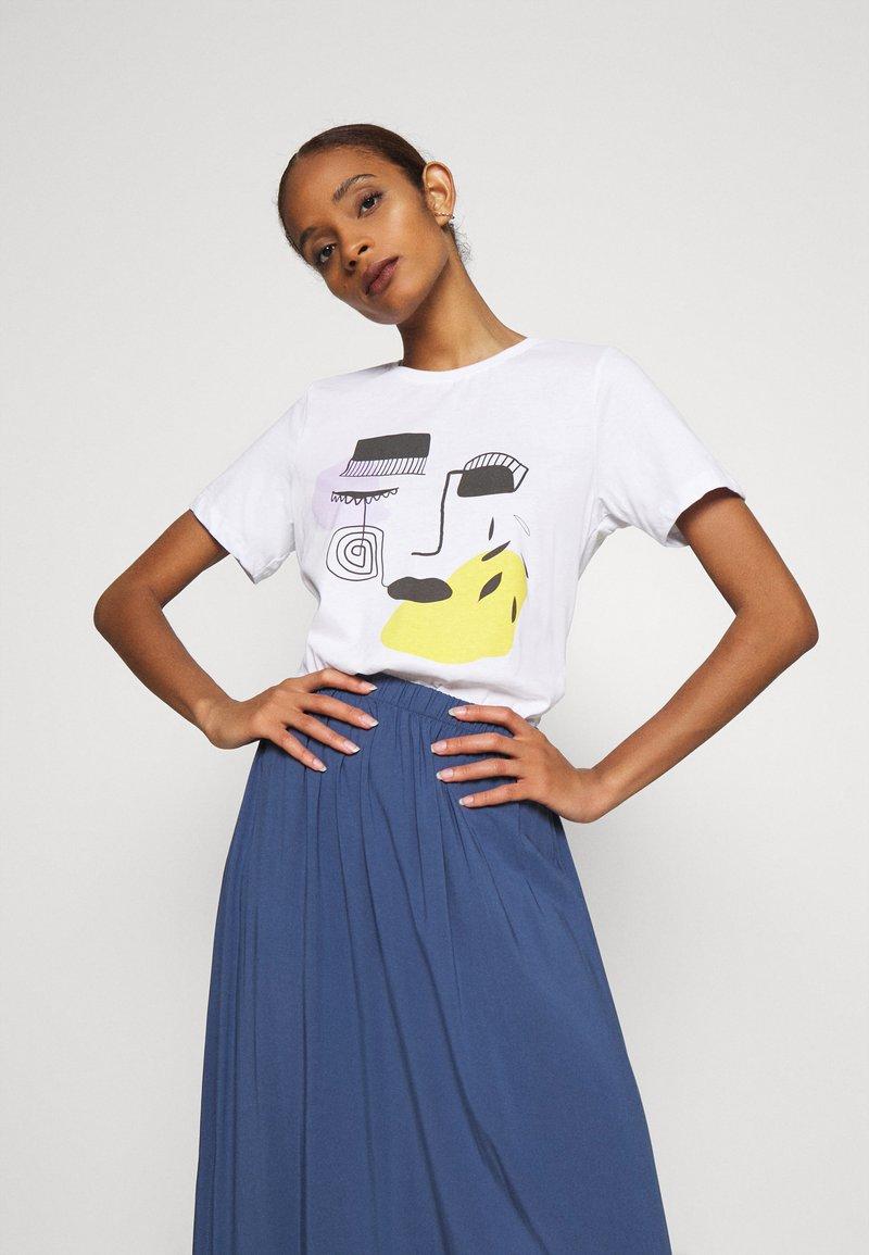 Zign - T-Shirt print - white