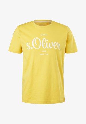 MIT LABEL - Print T-shirt - yellow