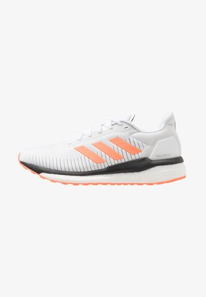 SOLAR DRIVE 19 - Neutral running shoes - footwear white/solar orange/grey two