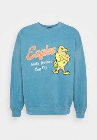 BDG Urban Outfitters - UNISEX BLUE EAGLES - Sweatshirt - blue - 4