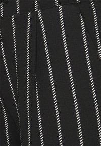 ICHI - IHKATE STRIPED - Tracksuit bottoms - black - 5