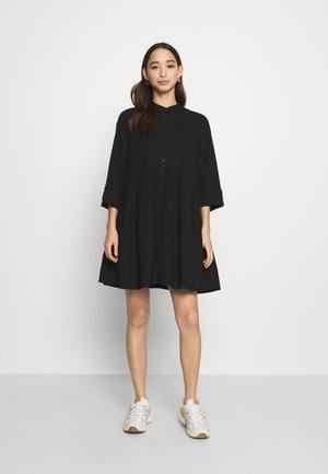 ONLDITTE LIFE DRESS - Shirt dress - black