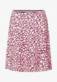 Street One - ROCK MIT PRINT - A-line skirt - rot - 3
