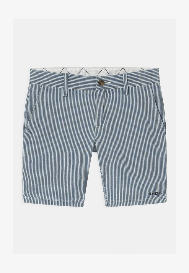 STRIPE  - Shorts - blue/white