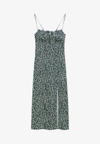 PULL&BEAR - Day dress - mottled black - 5