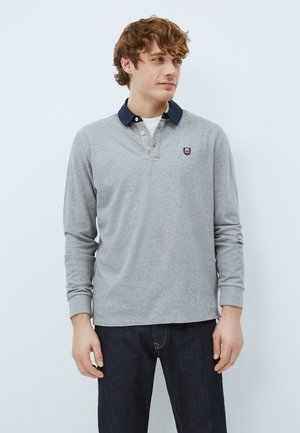 Polo shirt - gris marl