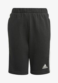 adidas Performance - COMFORT COLORBLOCK SHORTS - Sports shorts - black - 0