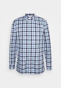 TRAVEL OXFORD CHECK - Shirt - colorado indigo/yale navy