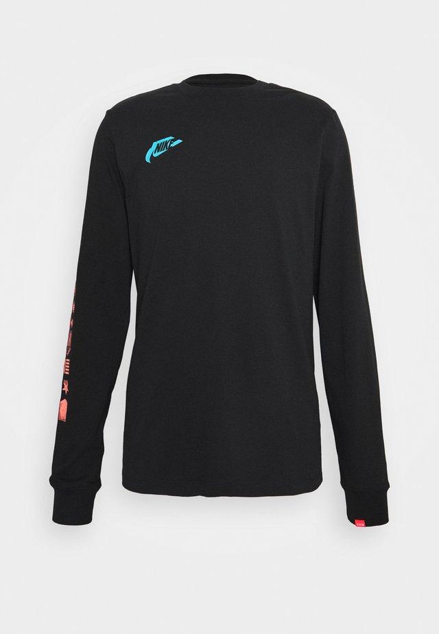 WORLDWIDE - T-shirt à manches longues - black
