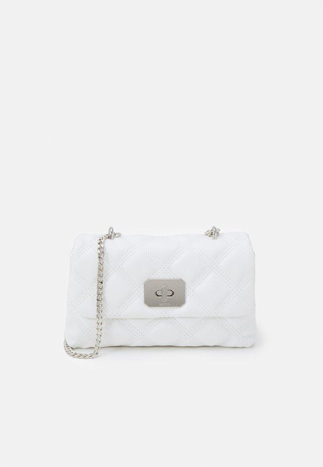 CROSSBODY BAG HERMIONE M - Across body bag - white