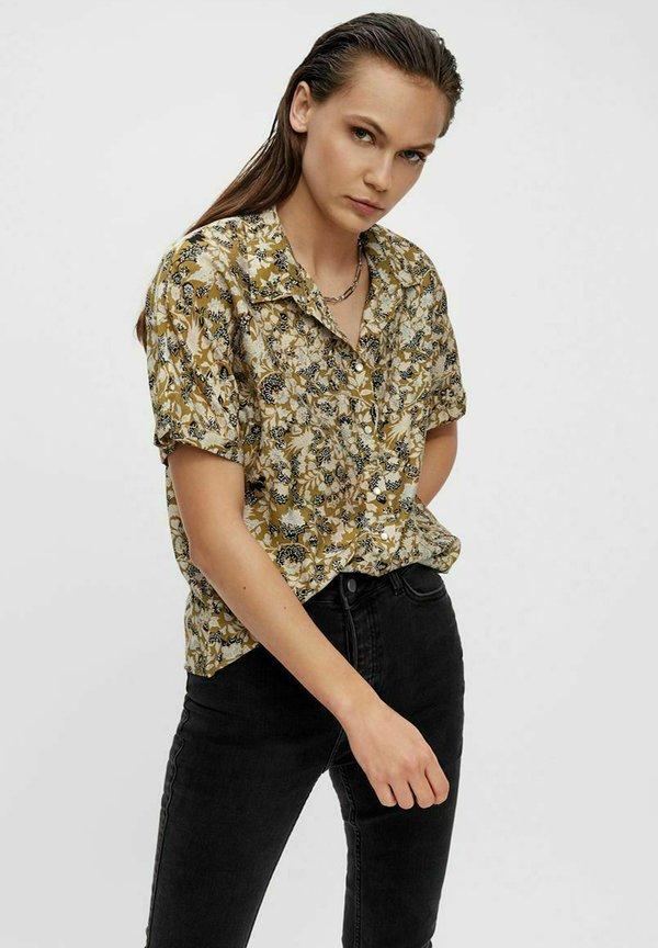 Object Koszula - khaki/beżowy GLZW