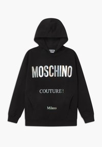 MOSCHINO - HOODED OVERSIZE - Hoodie - black - 0