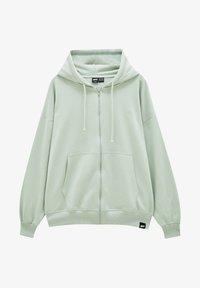 PULL&BEAR - Zip-up sweatshirt - green - 4