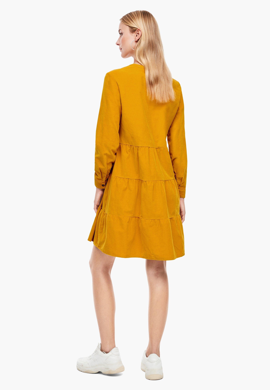 s.Oliver Day dress - dark yellow - Women's Clothing joYDc