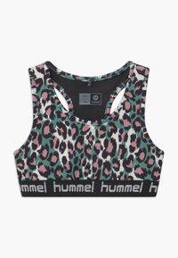 Hummel - MIMMI - Sports bra - oil blue - 0