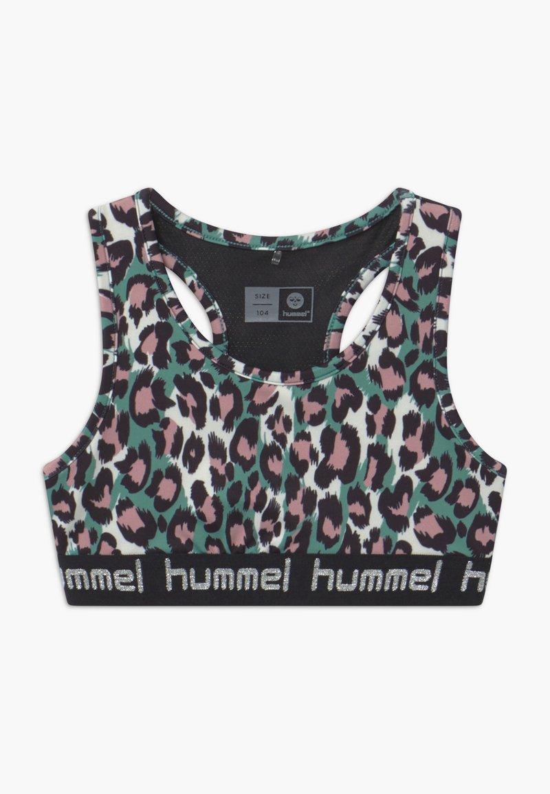 Hummel - MIMMI - Sports bra - oil blue