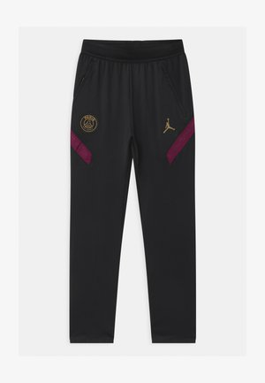 PARIS ST GERMAIN UNISEX - Tracksuit bottoms - black/truly gold