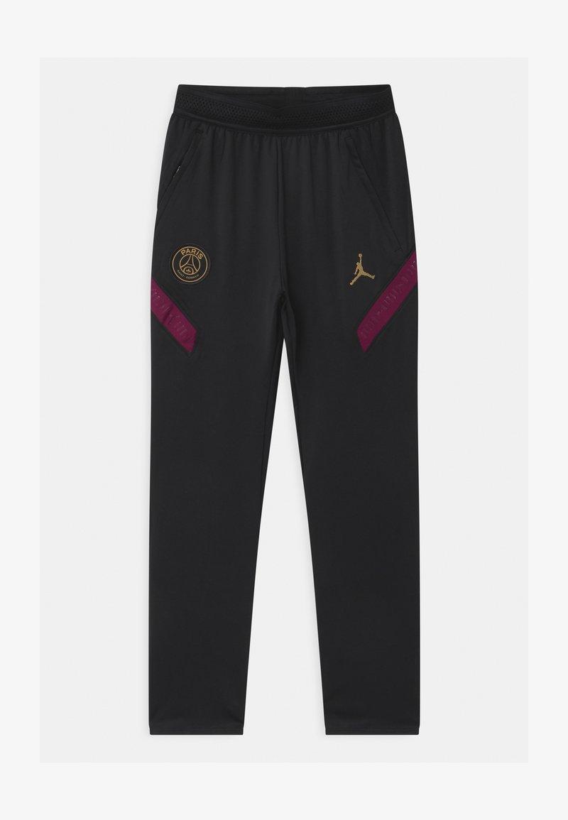 Nike Performance - PARIS ST GERMAIN UNISEX - Tracksuit bottoms - black/truly gold