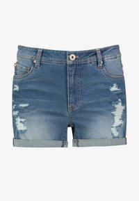 Sublevel - Denim shorts - dark-blue - 0