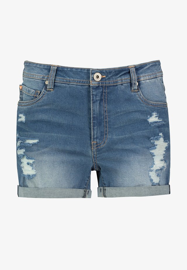 Jeans Shorts - dark-blue