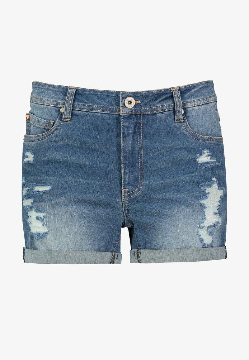 Sublevel - Denim shorts - dark-blue