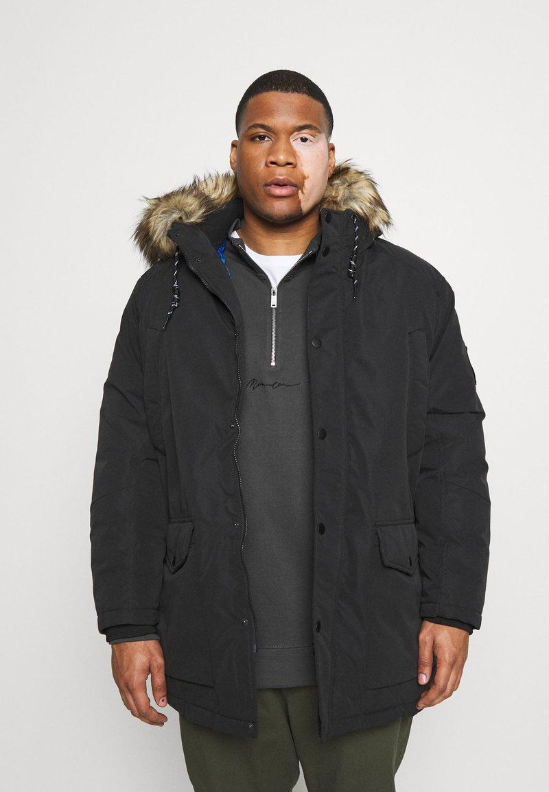Jack & Jones - JJSKY JACKET - Winter coat - black