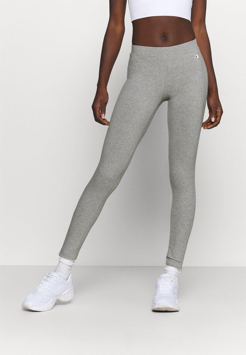 Champion - 7/8 LEGGINGS - Leggings - mottled grey