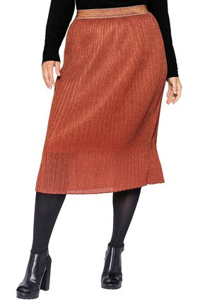 Pencil skirt - rostorange