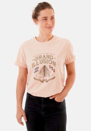 CHALK CAN  - T-Shirt print - grand illusion