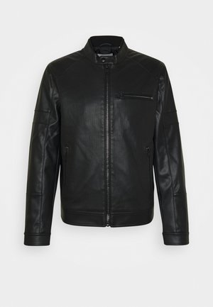 JCOARTHAS - Faux leather jacket - black