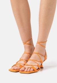 Rejina Pyo - MALIA - T-bar sandals - orange - 0