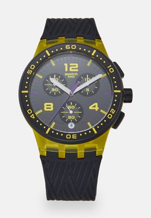 YELLOW TIRE - Chronograph watch - yellow