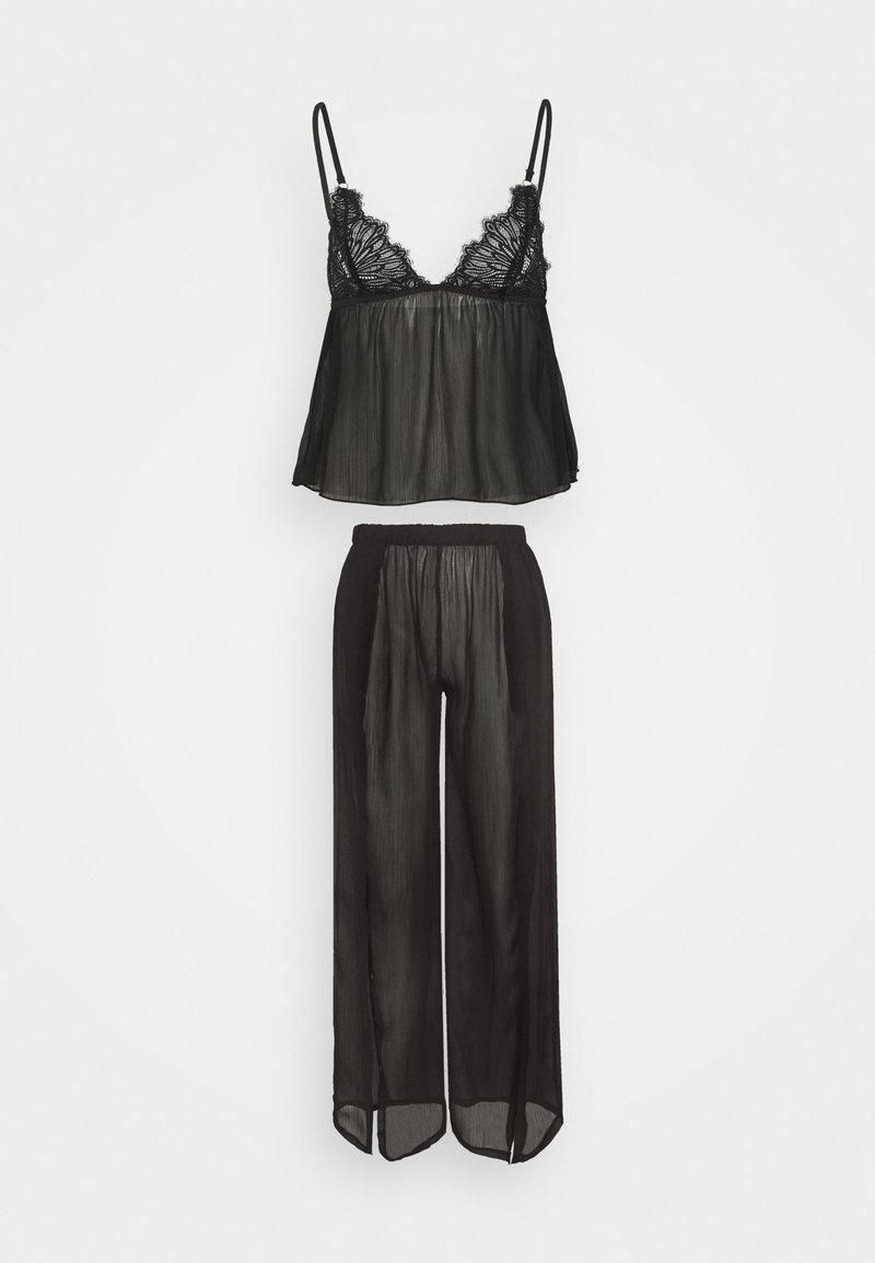Bluebella - CAMI AND TROUSER - Pyjamas - black