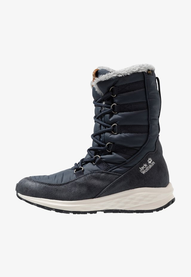 NEVADA TEXAPORE HIGH - Winter boots - dark blue/offwhite
