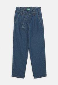 Benetton - KEITH KISS GIRL - Flared Jeans - blue denim - 0