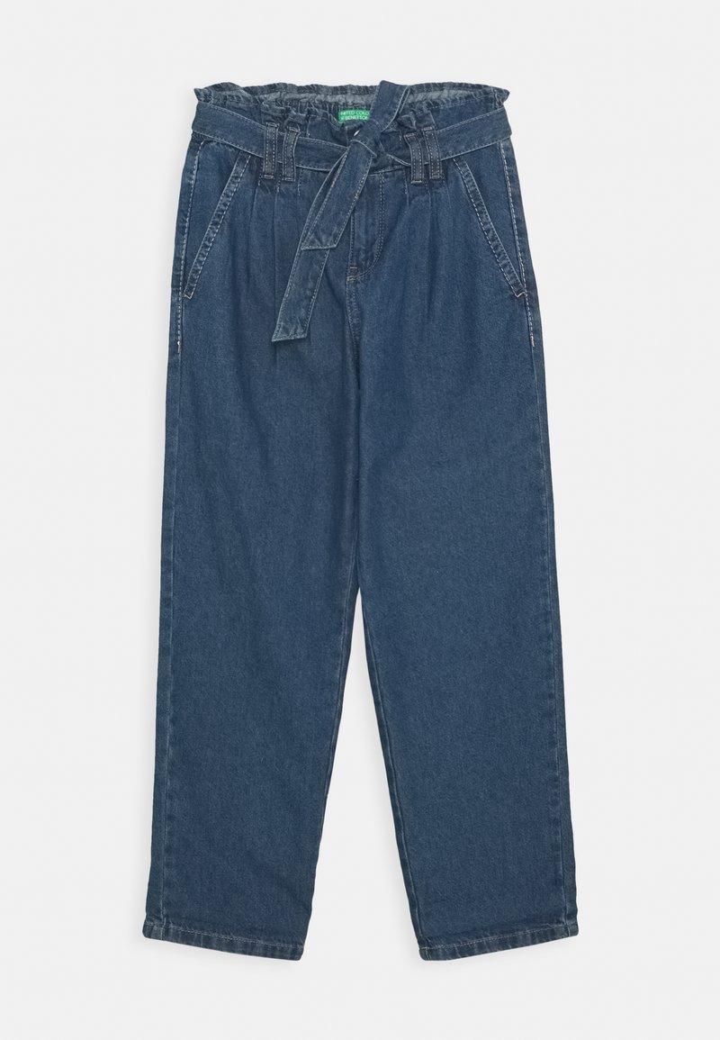 Benetton - KEITH KISS GIRL - Flared Jeans - blue denim