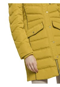 TOM TAILOR - SIGNATURE PUFFER COAT - Winter coat - california sand yellow - 6