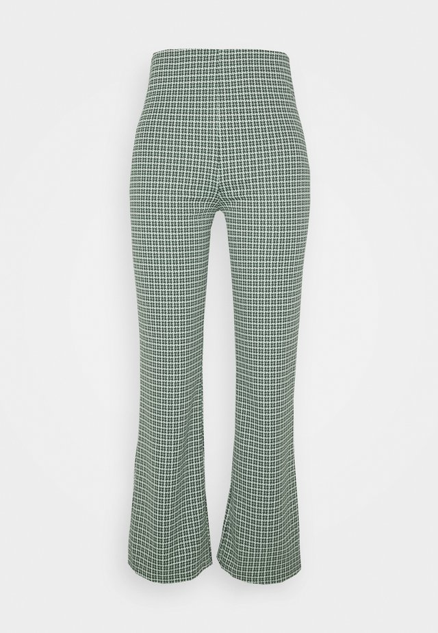 VIVA TROUSERS SCALE - Bukse - green dusty light palma