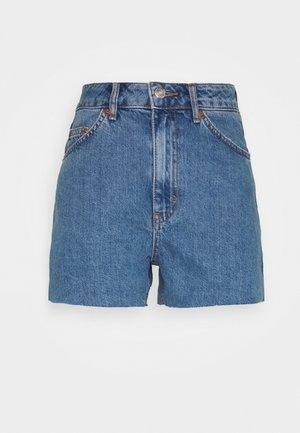 ALINE - Jeansshort - blue denim