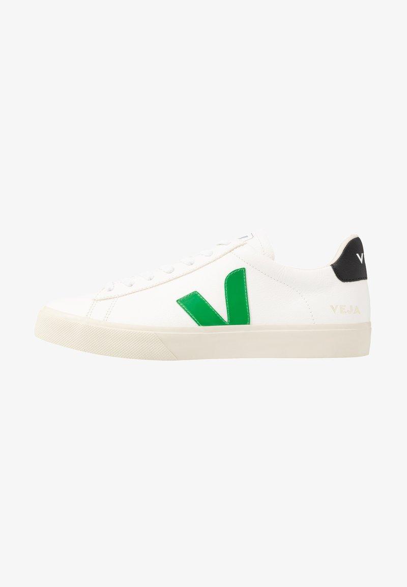 Veja - CAMPO - Baskets basses - extra white/emeraude/black