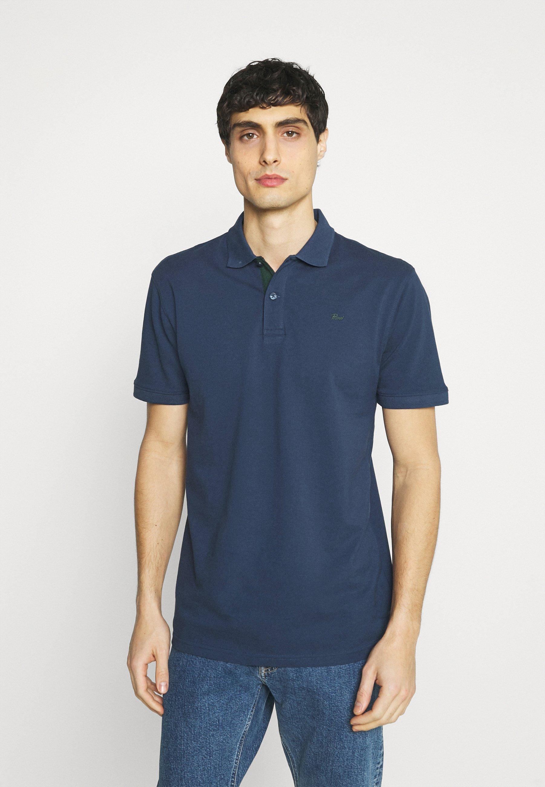 Uomo Polo - petol blue