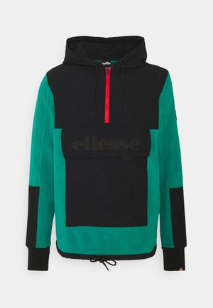 AMALFON OH HOODY - Fleece jumper - dark green