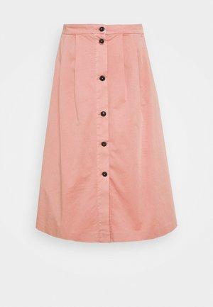 MODERN MIDI SKIRT - A-snit nederdel/ A-formede nederdele - soothing pink