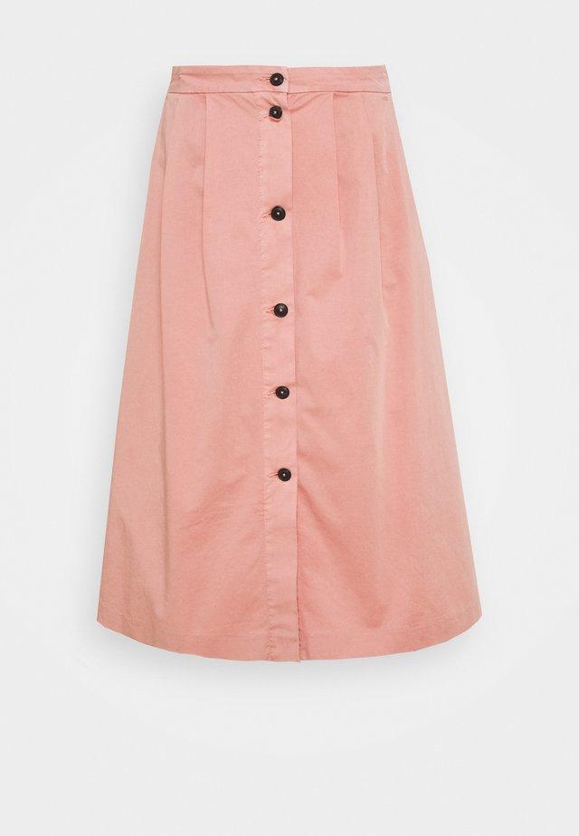 MODERN MIDI SKIRT - Áčková sukně - soothing pink